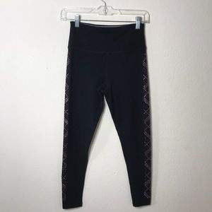 Black Calvin Klein performance leggings